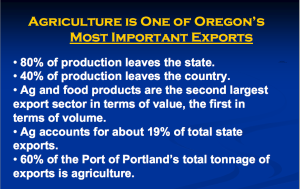 OR Ag important exports